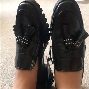 Zara tasseled shoes